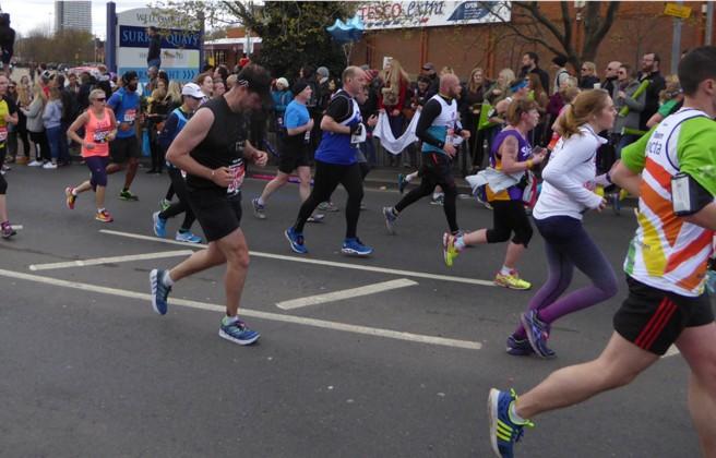 Paul Kemshell London Marathon 2016